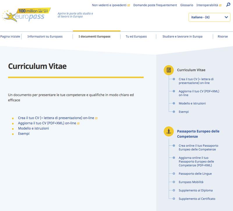 Guida Cv Come Compilare Il Curriculum Small Business Italia