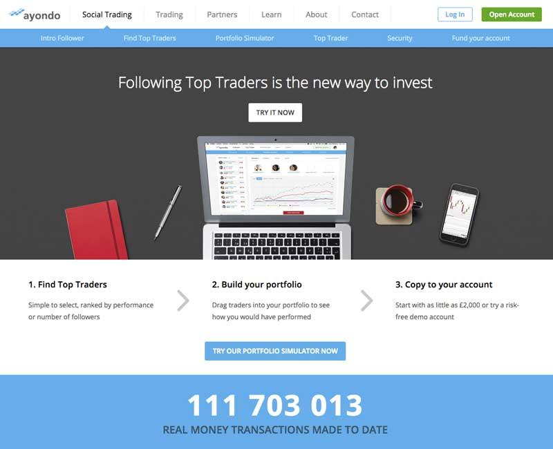 Social forex trading