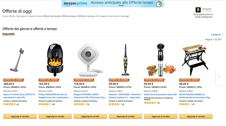 amazon prime come funziona