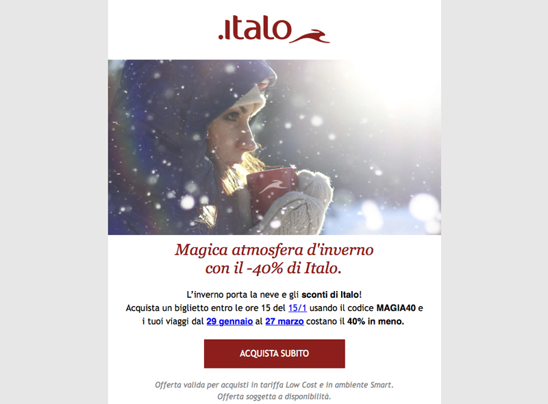 italo offerte