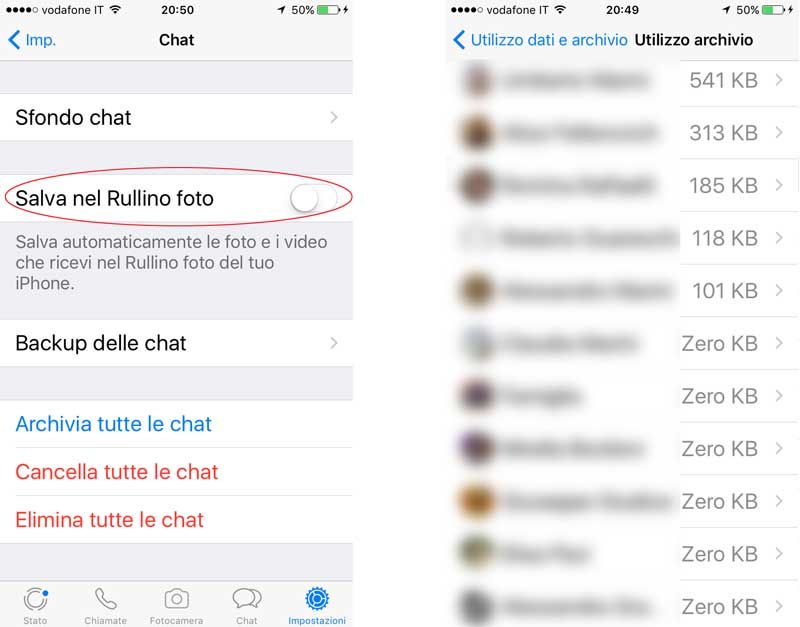 Come liberare spazio su iPhone