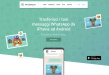 Trasferire i messaggi Whatsapp
