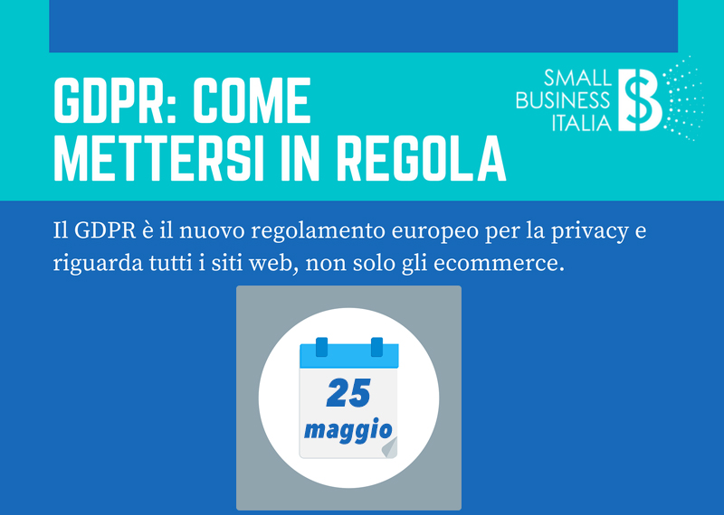324df4fb1a32 GDPR Infografica - Small Business Italia