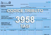 codice tributo 3958