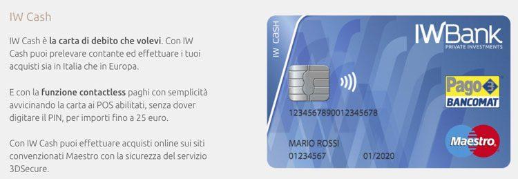 iwbank bancomat