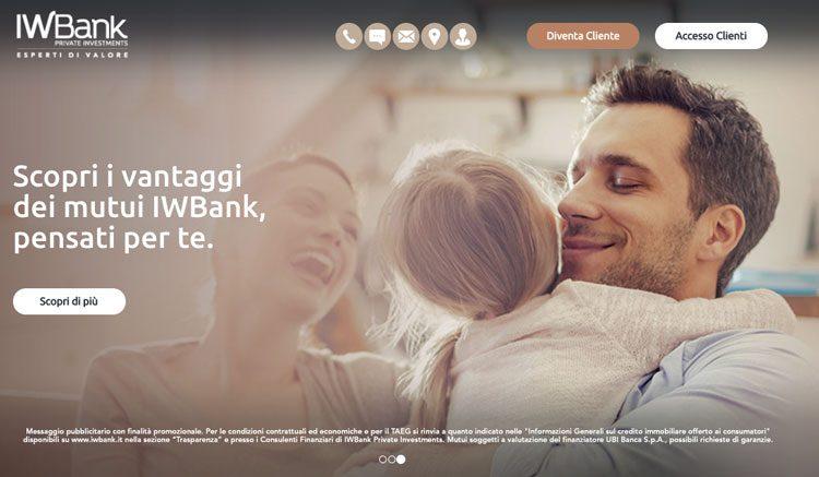 iwbank mutui online