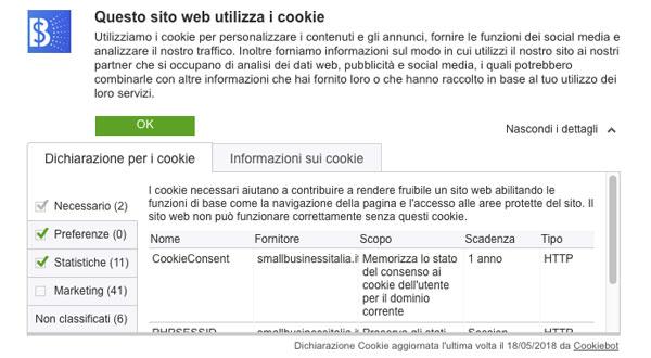 iubenda vs cookiebot
