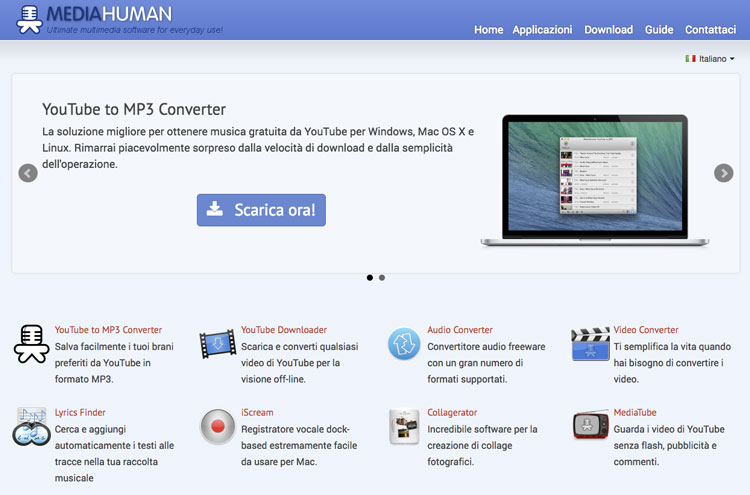 Convertitore Mp3 Youtube