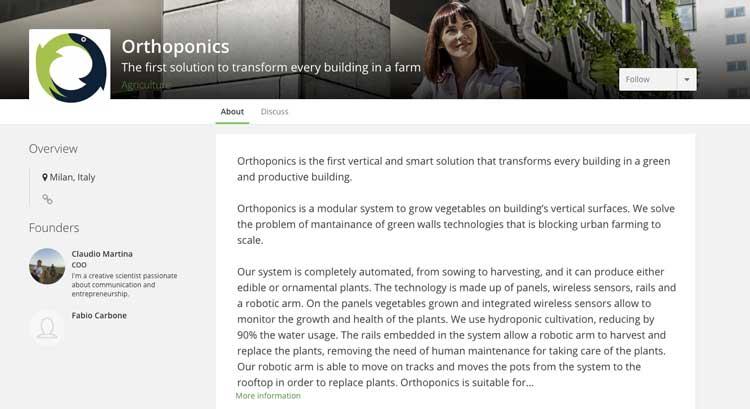 Orthoponics