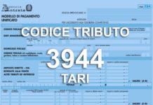 codice tributo 3944