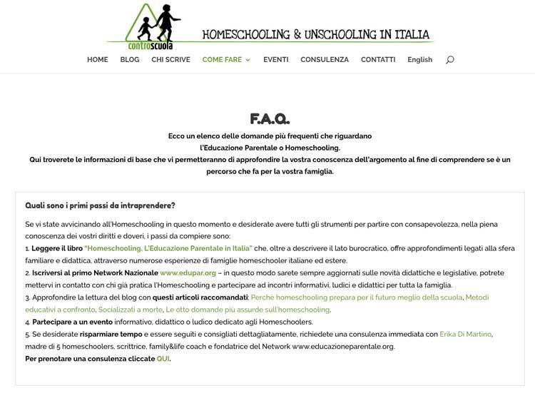 scuole parentali italia