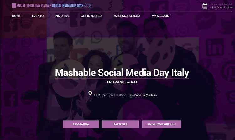 Mashable Social Media Day Italia