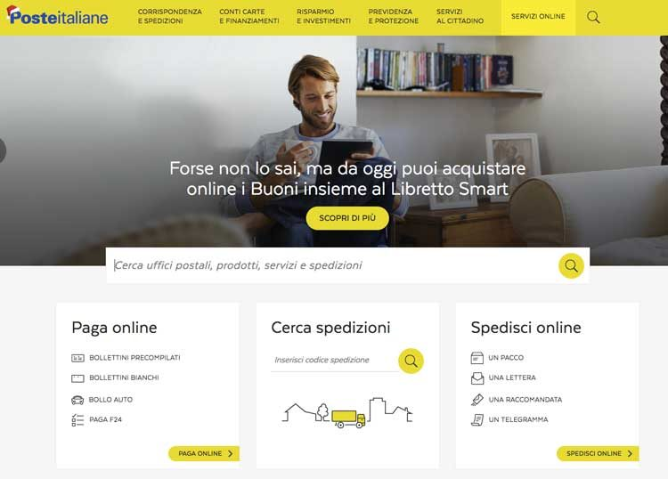 Poste Italaine servizi online